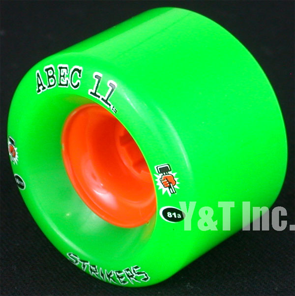 ABEC11 Strikers 66mm 81a 2