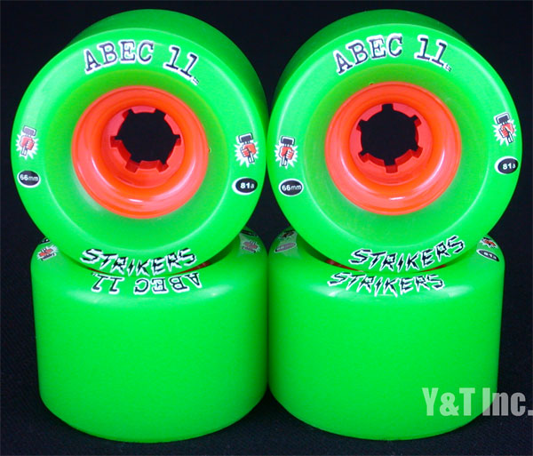 ABEC11 Strikers 66mm 81a 1