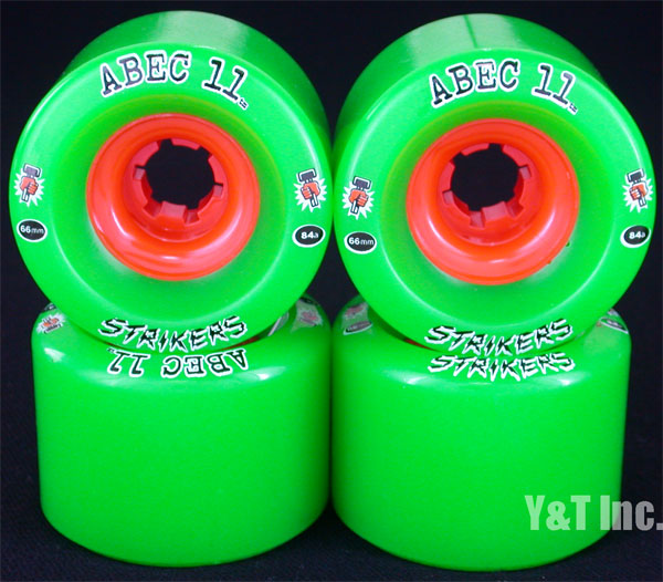 ABEC11 Strikers 66mm 84a 1