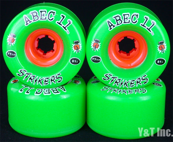 ABEC11 Strikers 77mm 81a 1