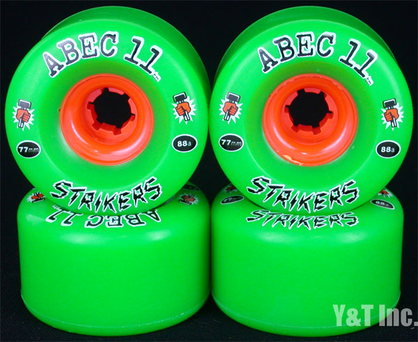 ABEC11 Strikers 77mm 88a 1