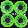 ABEC11 Zig Zags 66mm 80a Limes