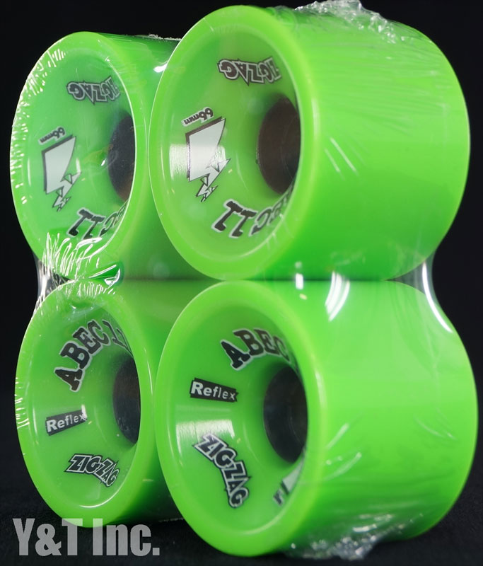 ABEC11 Zig Zags 66mm 80a Limes 2