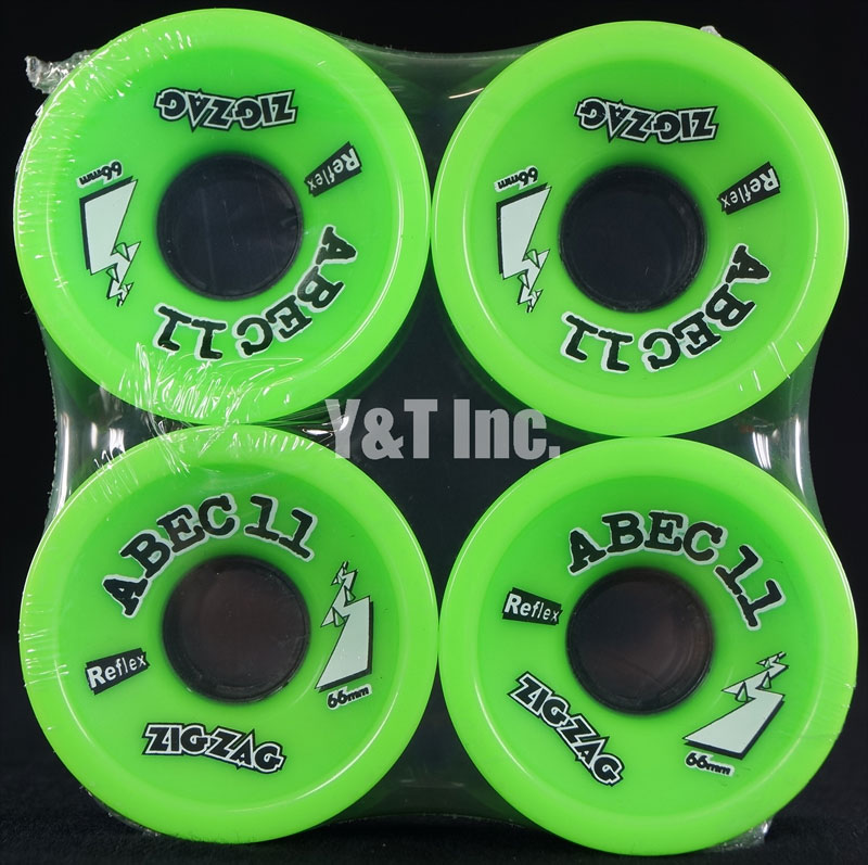 ABEC11 Zig Zags 66mm 80a Limes 1