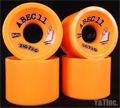 ABEC11 Zig Zags 66mm 86a Oranges