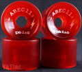 ABEC11 Zig Zags 70mm 78a Red