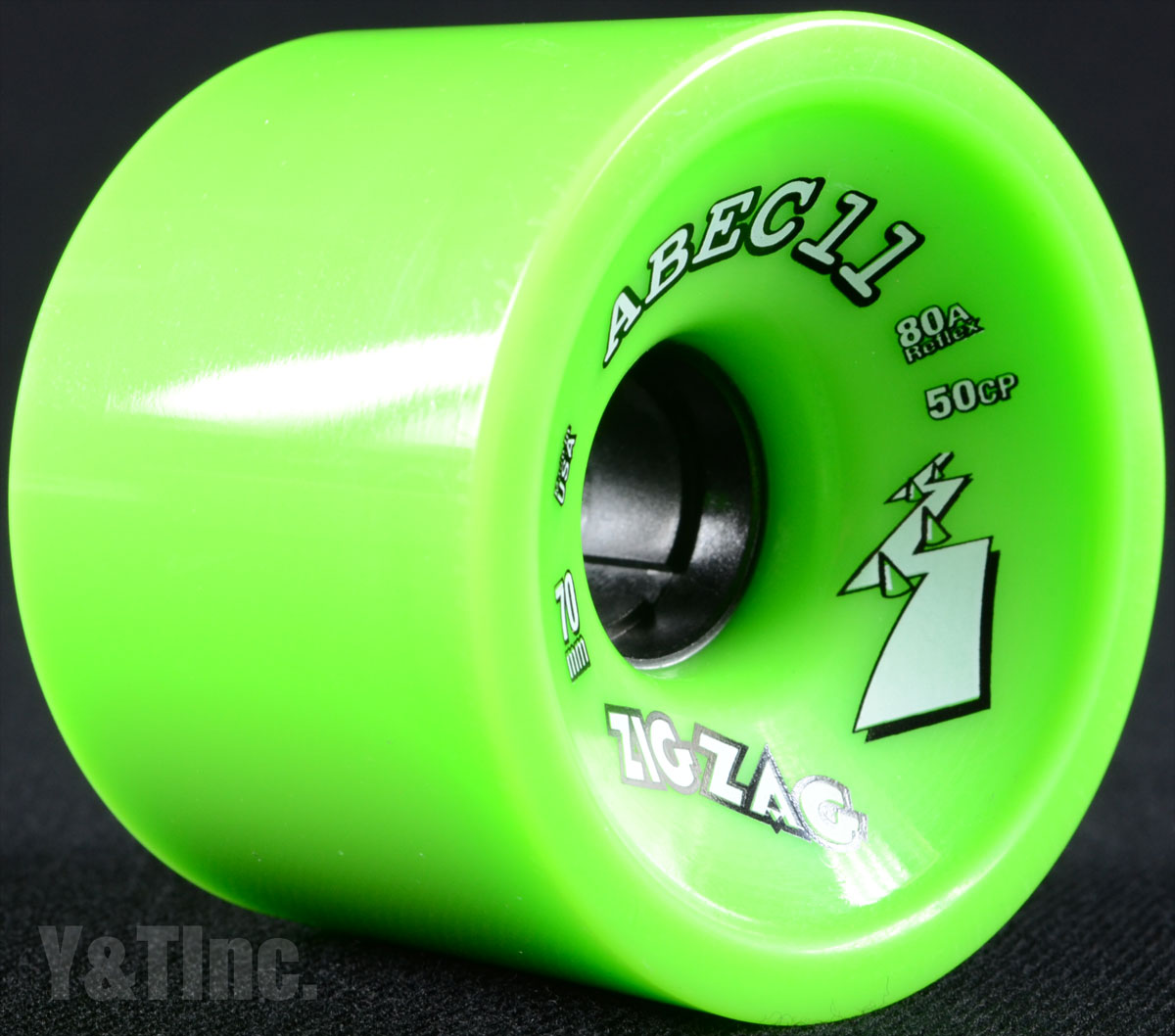 ABEC11 Zig Zags 70mm 80a Limes 2