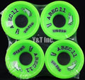 ABEC11 Zig Zags 70mm 80a Limes