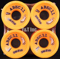 ABEC11 Zig Zags 70mm 86a Oranges