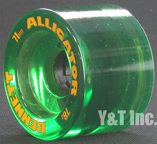 ALLIGATOR 71mm 78a CLEAR GREEN 1