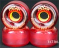 ALVA GHANDI 64mm 95a CLEAR RED