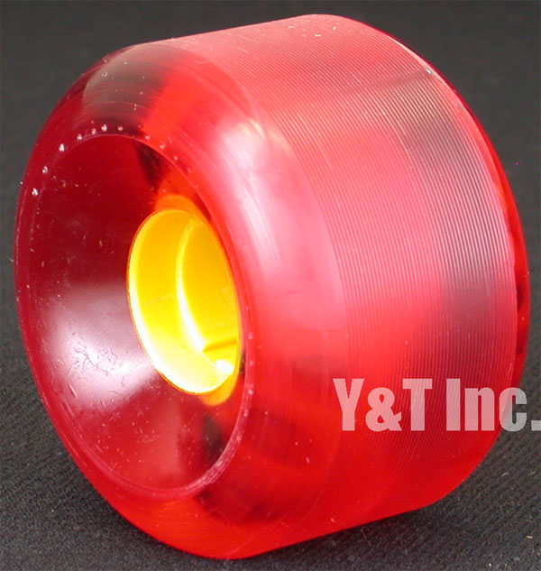 ALVA GHANDI 64mm 95a CLEAR RED 1