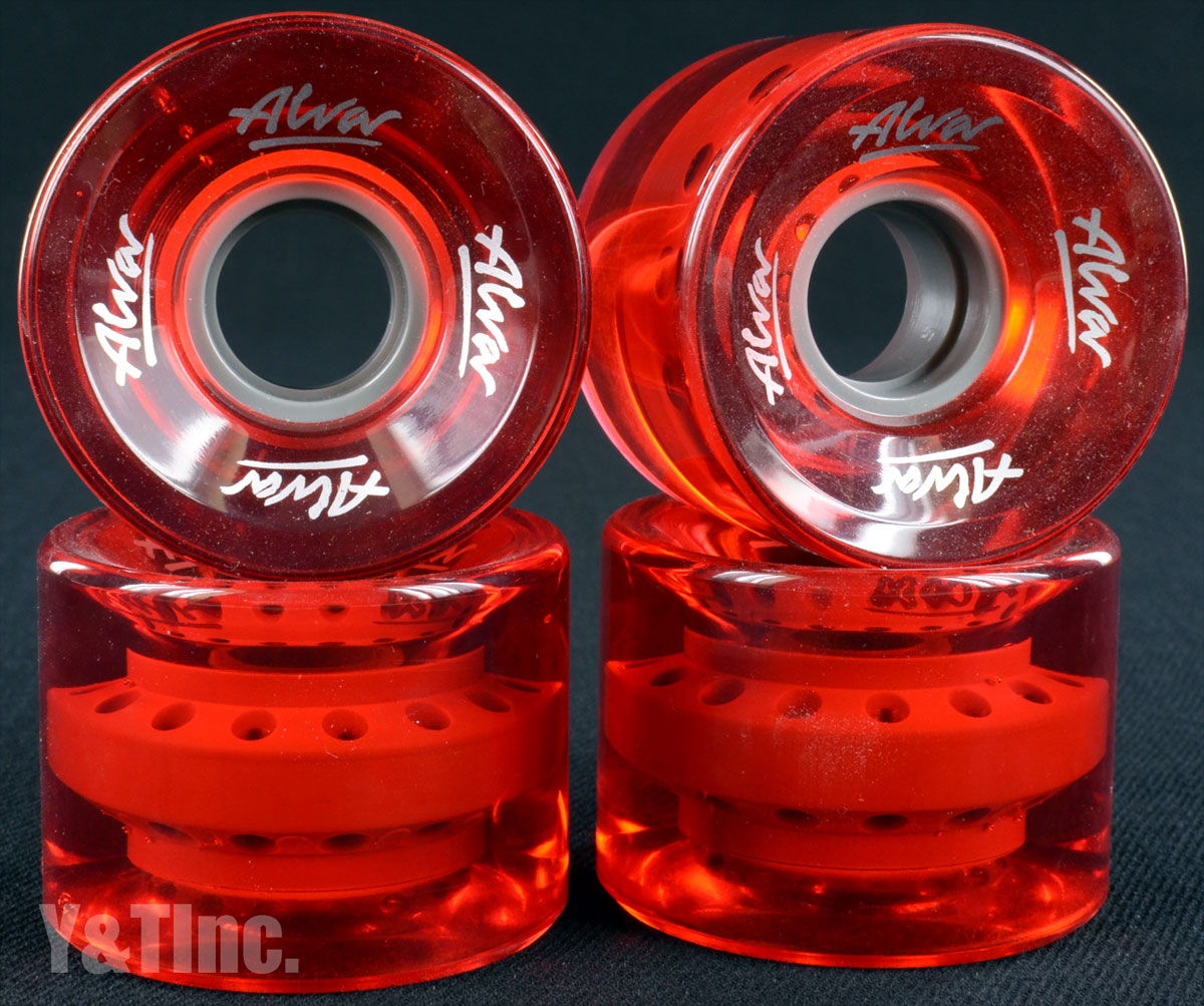 ALVA CRUISER 60mm 83a Clear Red 1
