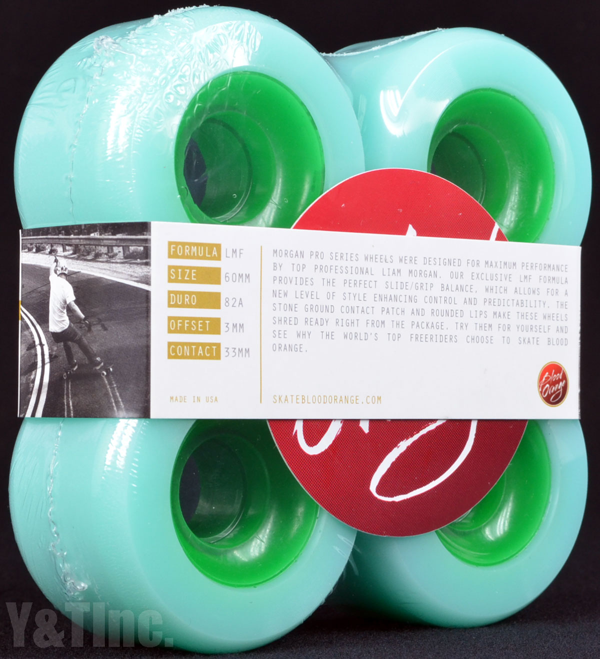 BLOOD ORANGE MORGAN 65mm 80a SEAFOAM 1