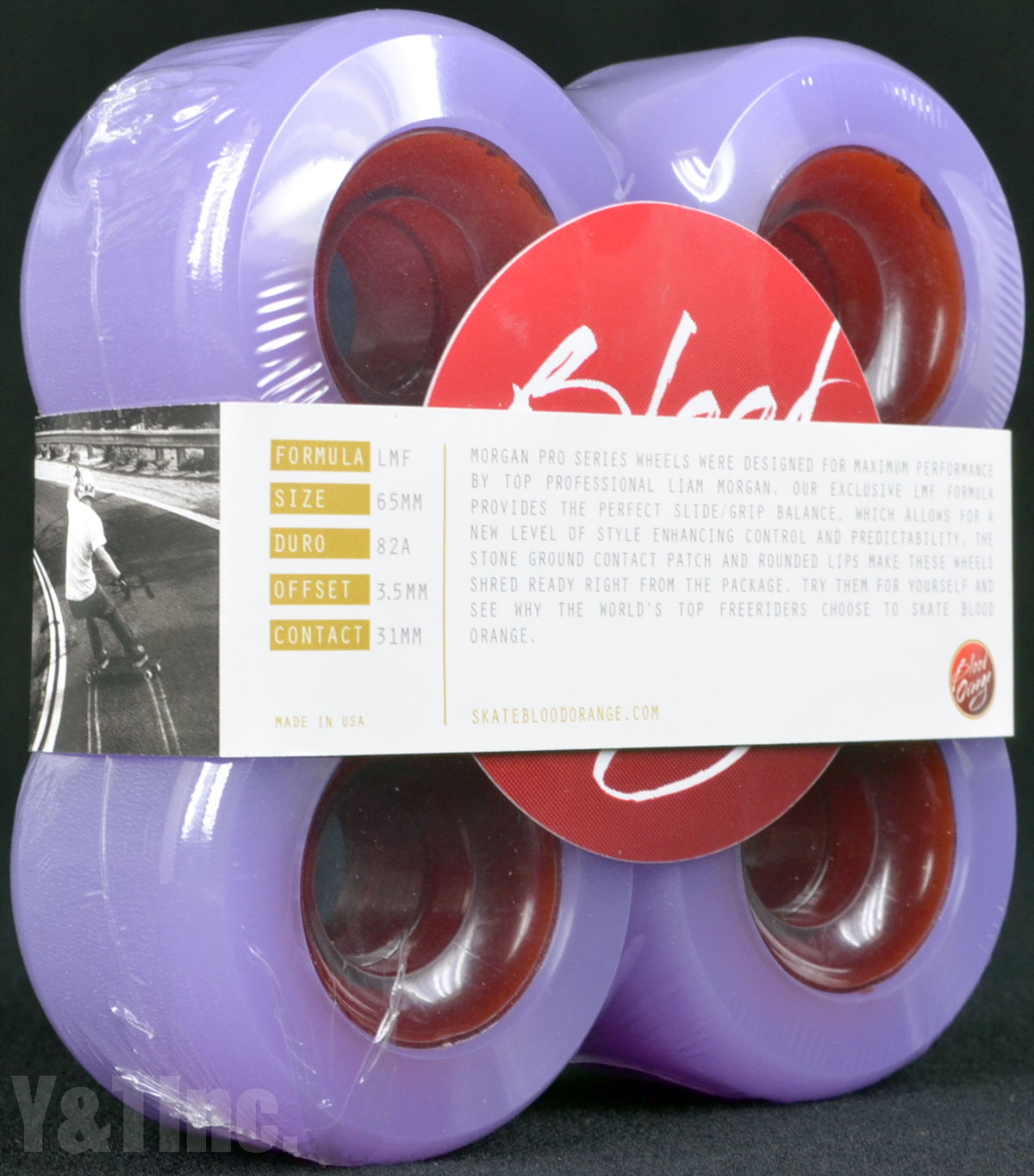 BLOOD ORANGE MORGAN 65mm 82a LAVENDER 1