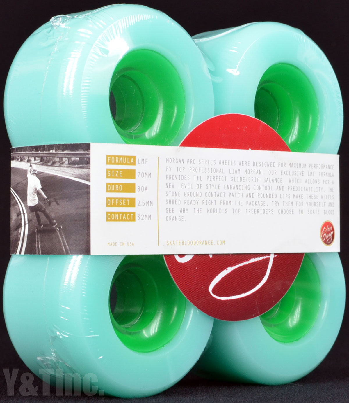 BLOOD ORANGE MORGAN 70mm 80a SEAFOAM 3