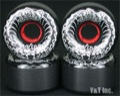 BDS SKULL WAVE 64mm 99a BLACK DEATH SILVER