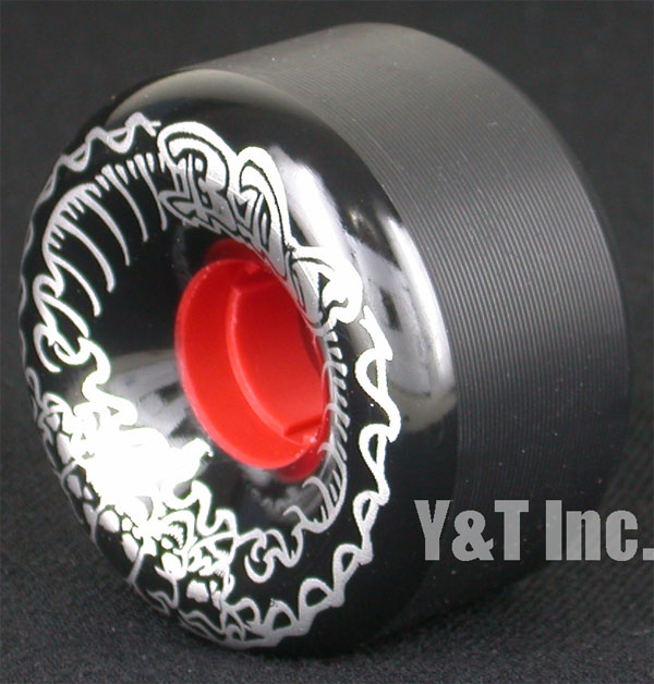 BDS SKULL WAVE 64mm 99a BLACK DEATH SILVER 2