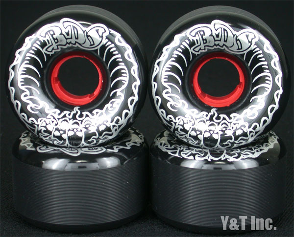 BDS SKULL WAVE 64mm 99a BLACK DEATH SILVER 1