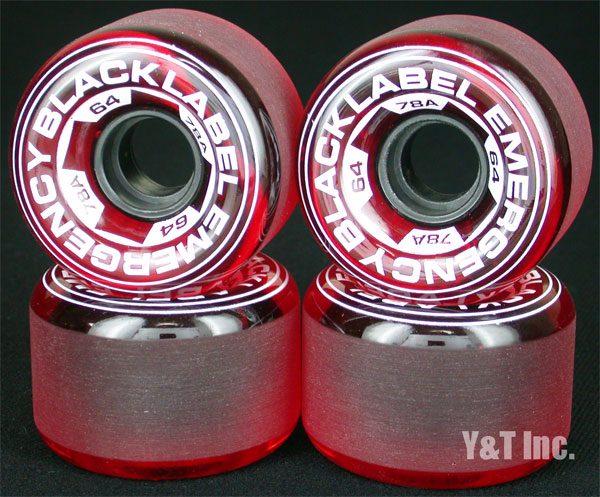 BLACKLABEL KRUZER 64mm 78a CLEAR RED 1
