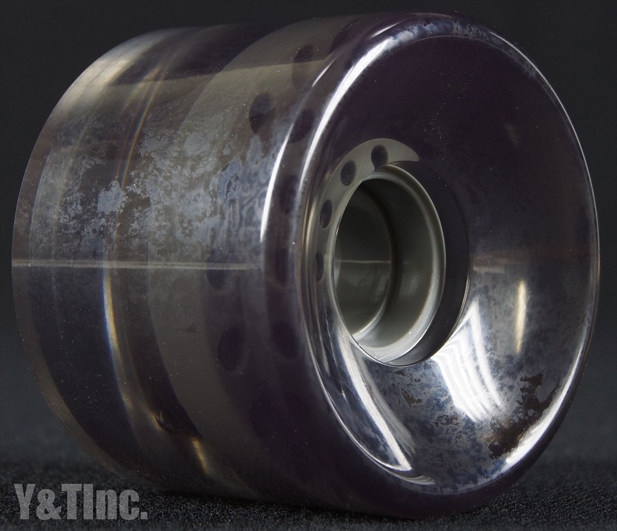 BLANK CRUISER 65mm 83a CLEAR BLACK 2