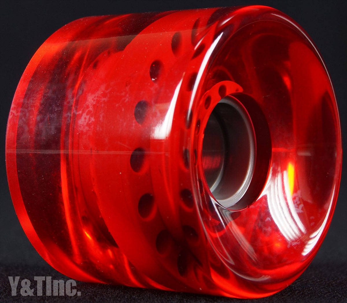 BLANK CRUISER 65mm 83a CLEAR RED 2