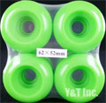 BLANK DUBCON 62mm 90a GREEN