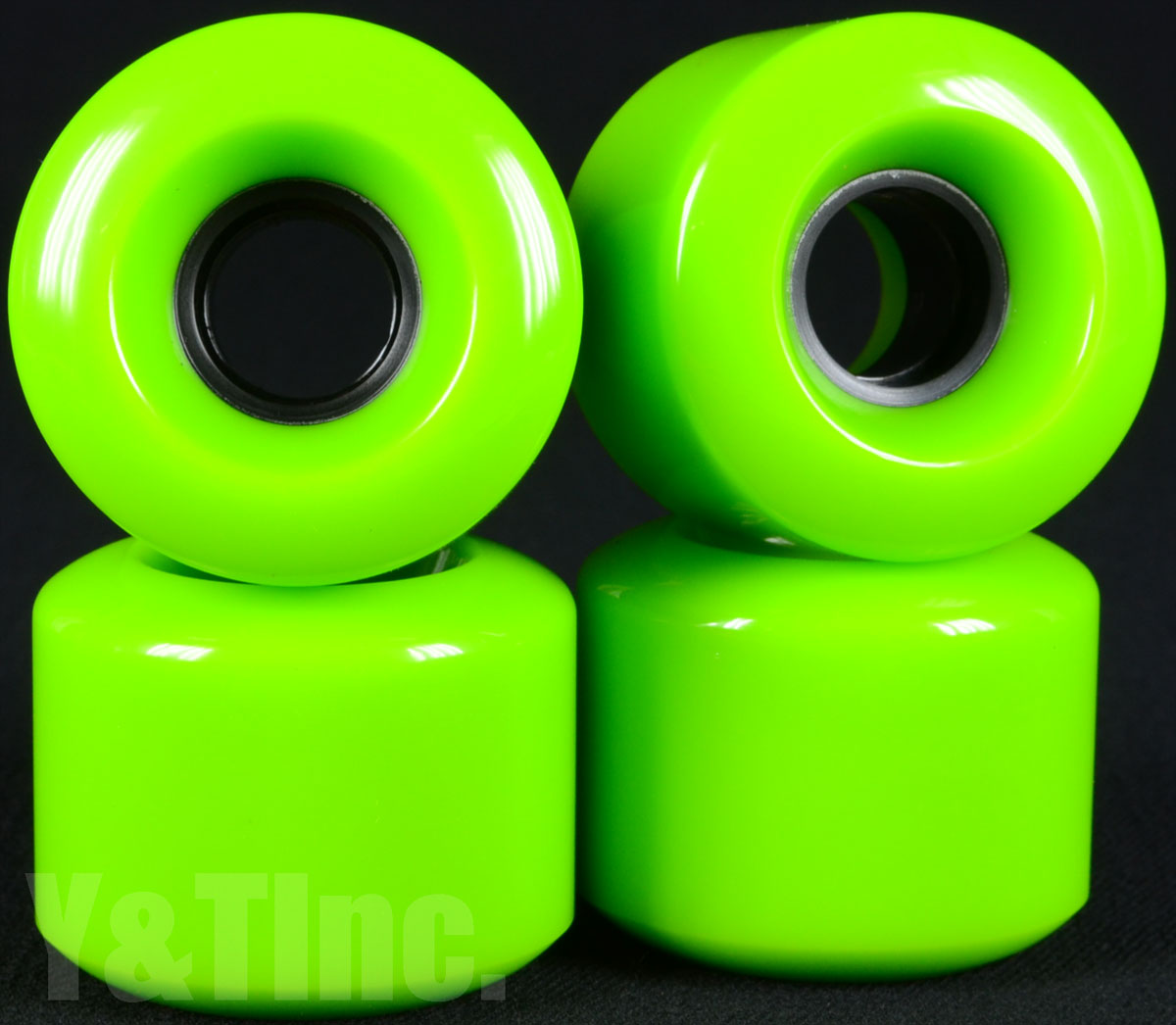 BLANK OLD SCHOOL 60mm 78a GREEN 1