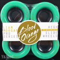 BLOOD ORANGE MORGAN 60mm 80a TURQUOISE