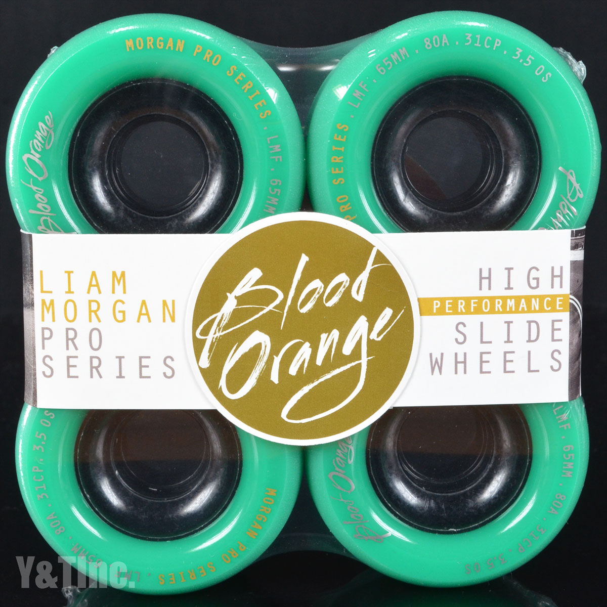 BLOOD ORANGE MORGAN 65mm 80a TURQUOISE 1