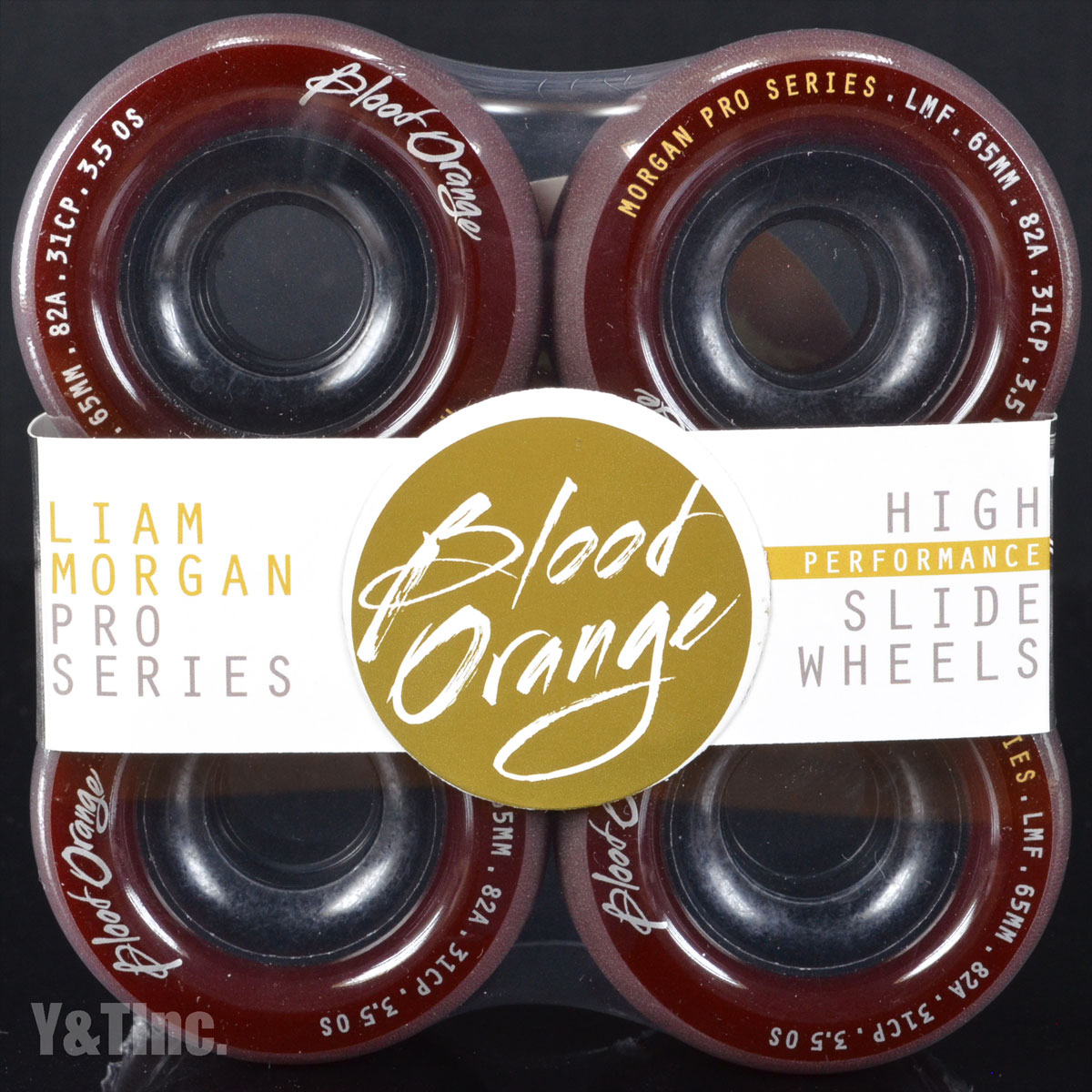 BLOOD ORANGE MORGAN 65mm 82a MAROON 1