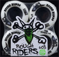 BONES ATF ROUGH RIDERS 59mm 80a White