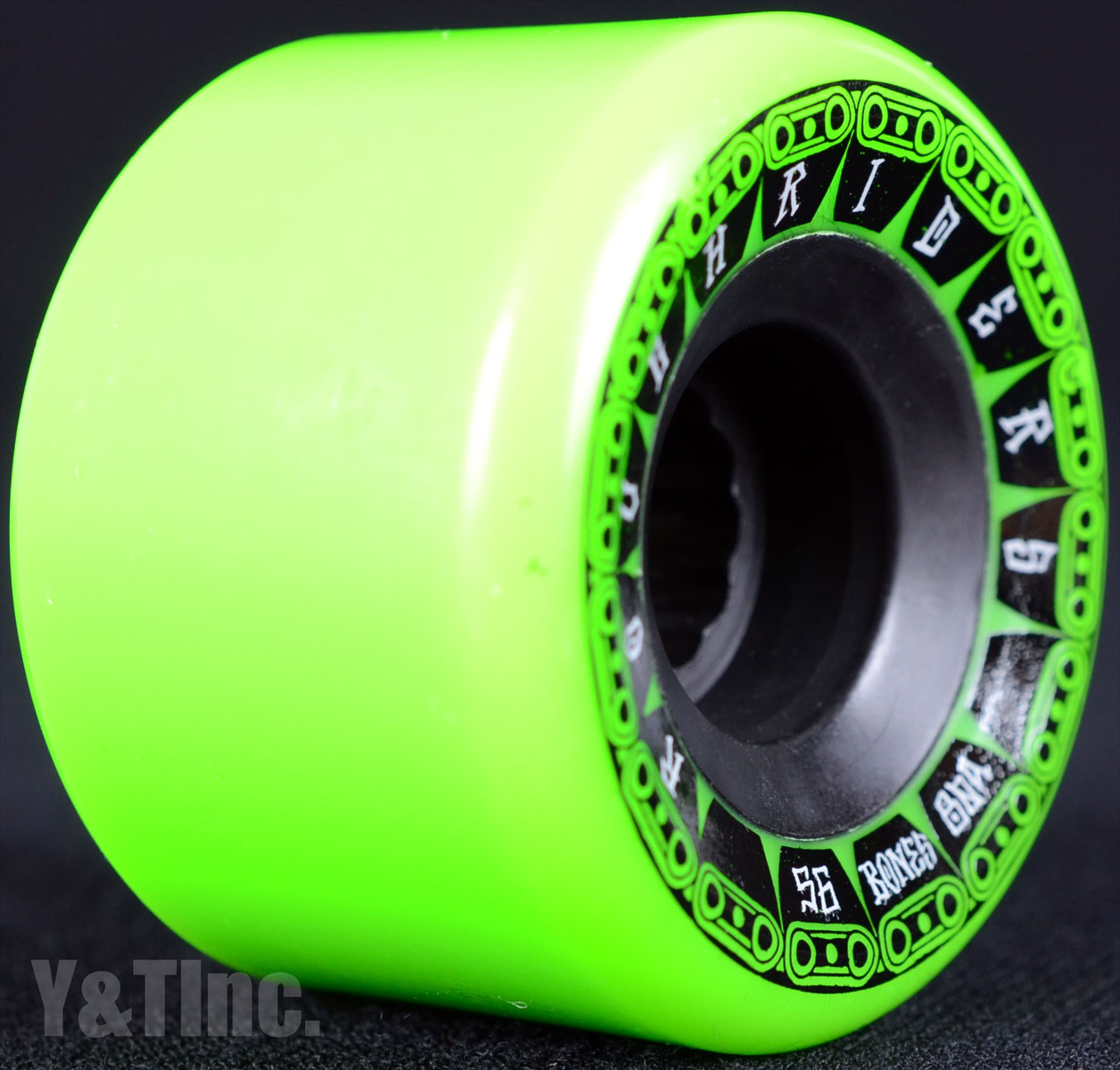 BONES ATF ROUGH RIDERS TANK 56mm 80a Green 1