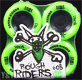BONES ATF ROUGH RIDERS 56mm 80a Green