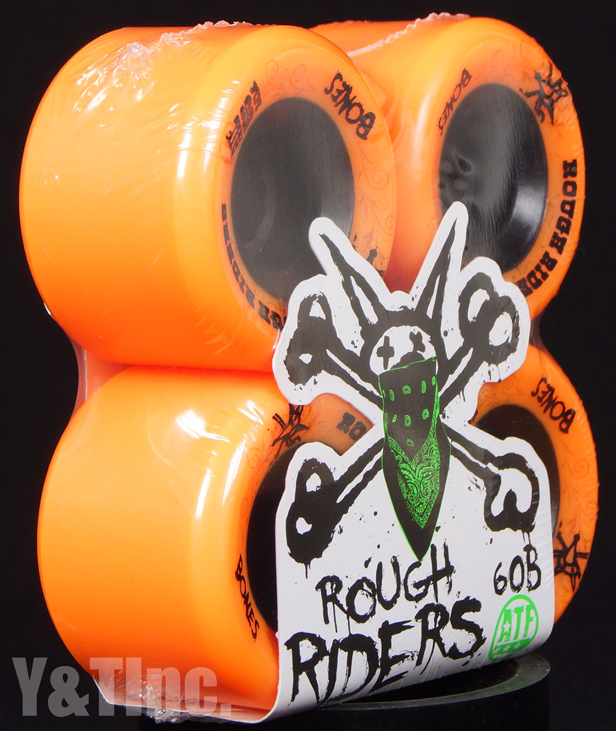 BONES ATF ROUGH RIDERS 56mm 80a Orange 1
