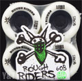 BONES ATF ROUGH RIDERS 56mm 80a White