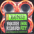 BONES ATF ROUGH RIDERS 56mm 80a Red
