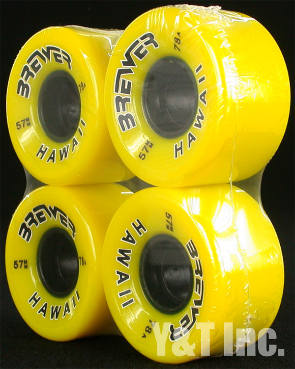 BREWER 57mm 78a YELLOW 1