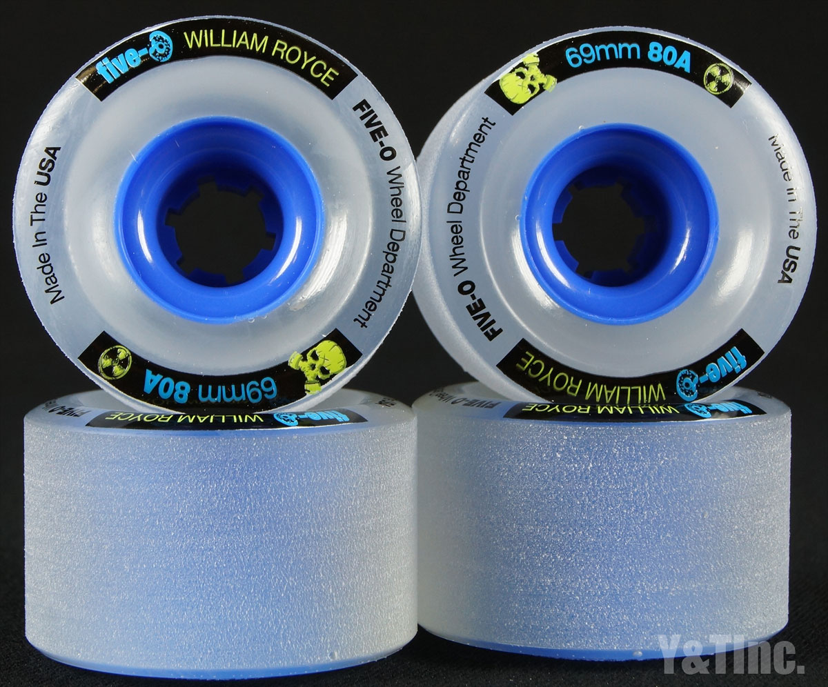 BUSTIN FINE-O 69mm 80a Clear Blue Core 1