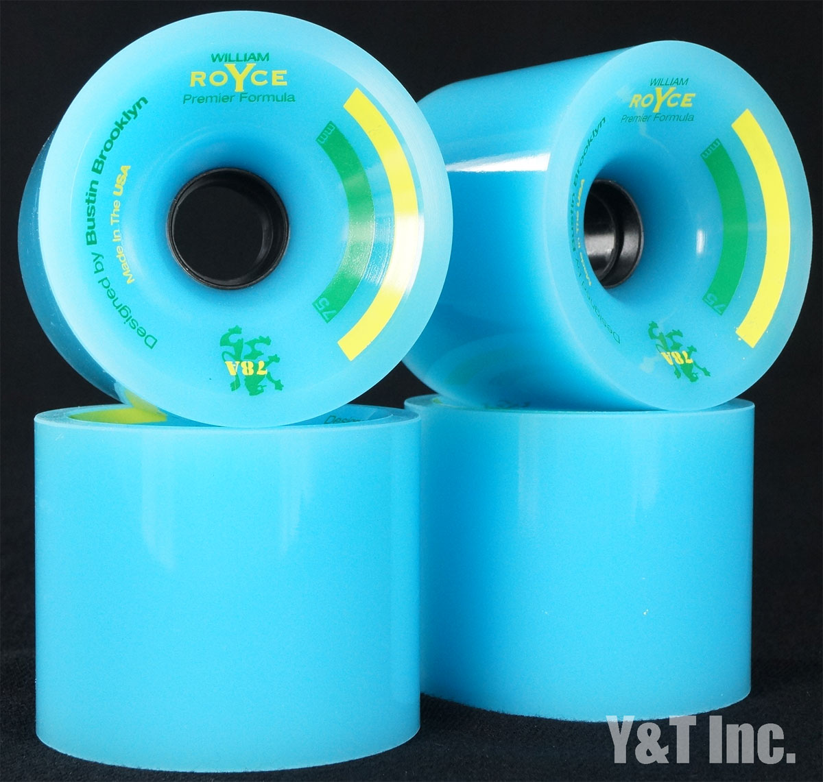 BUSTIN PF 75mm 78a BLUE 1