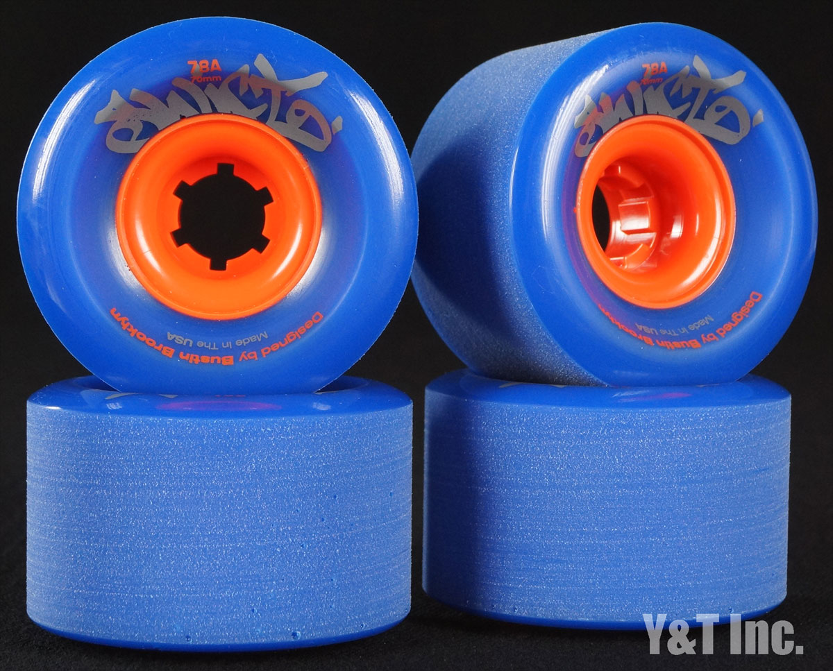 BUSTIN SWIFT 70mm 78a Blue 1
