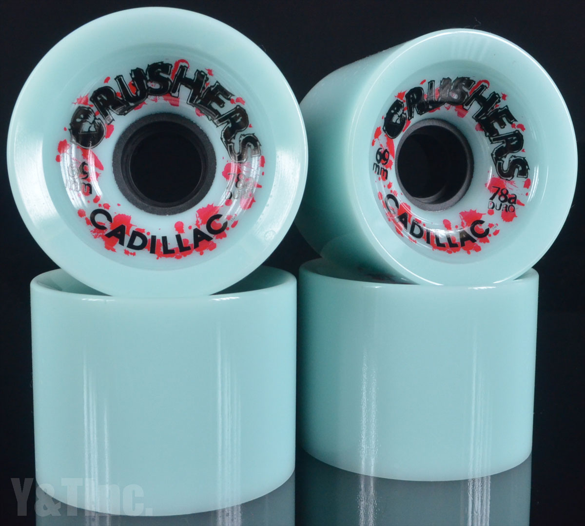 CADILLAC CRUSHERS 69mm 78a Blue 1