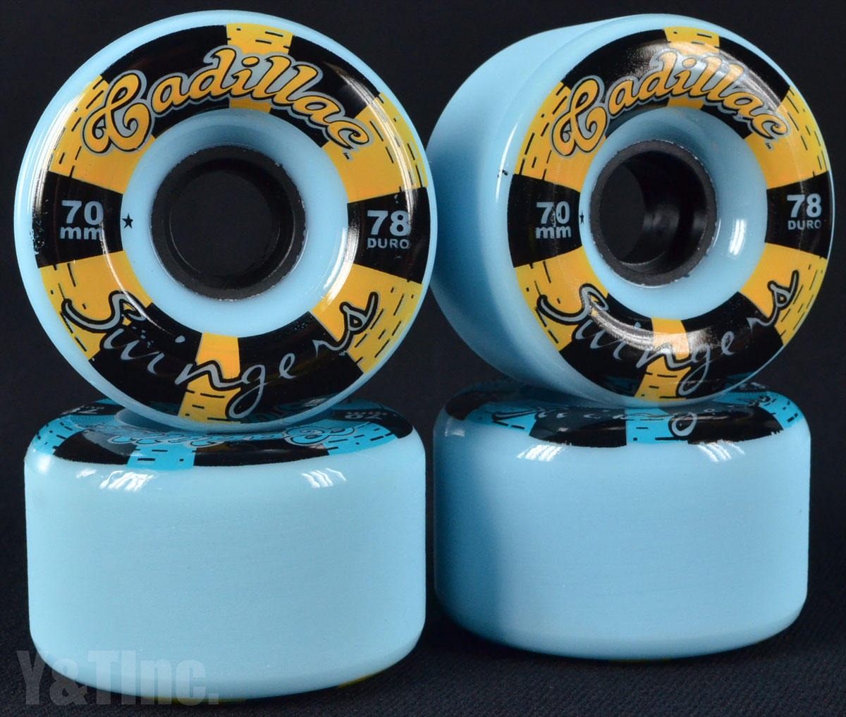 CADILLAC SWINGERS 70mm 78a Blue 1