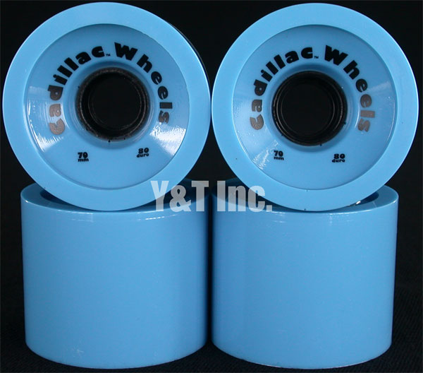 CADILLAC CRUZERS 70mm 80a BLUE 1