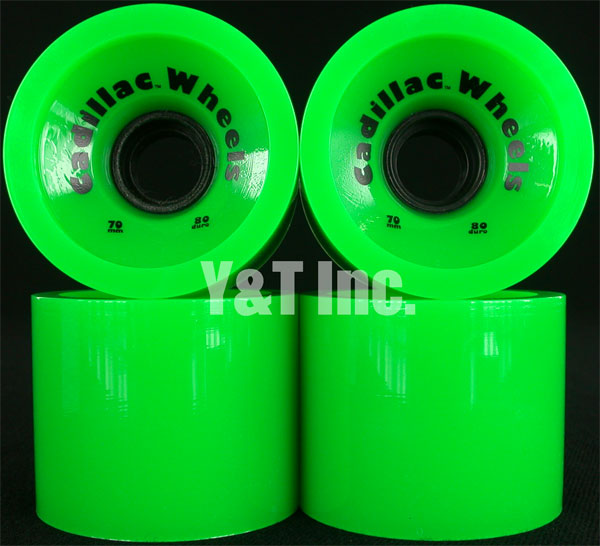 CADILLAC CRUZERS 70mm 80a GREEN 1
