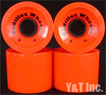 CADILLAC CRUZERS 70mm 80a ORANGE