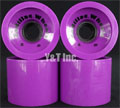 CADILLAC CRUZERS 70mm 80a PURPLE