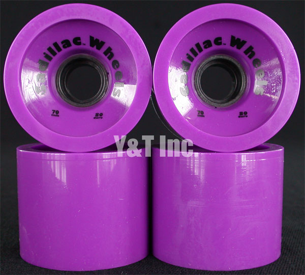 CADILLAC CRUZERS 70mm 80a PURPLE 1