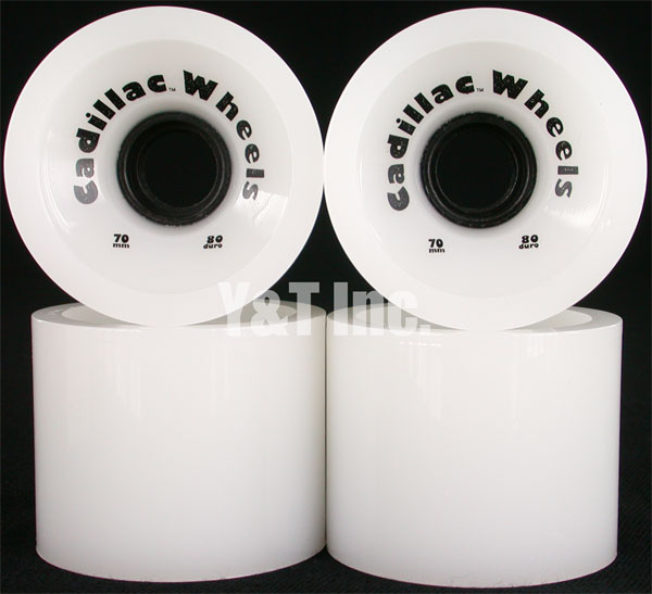 CADILLAC CRUZERS 70mm 80a WHITE 1