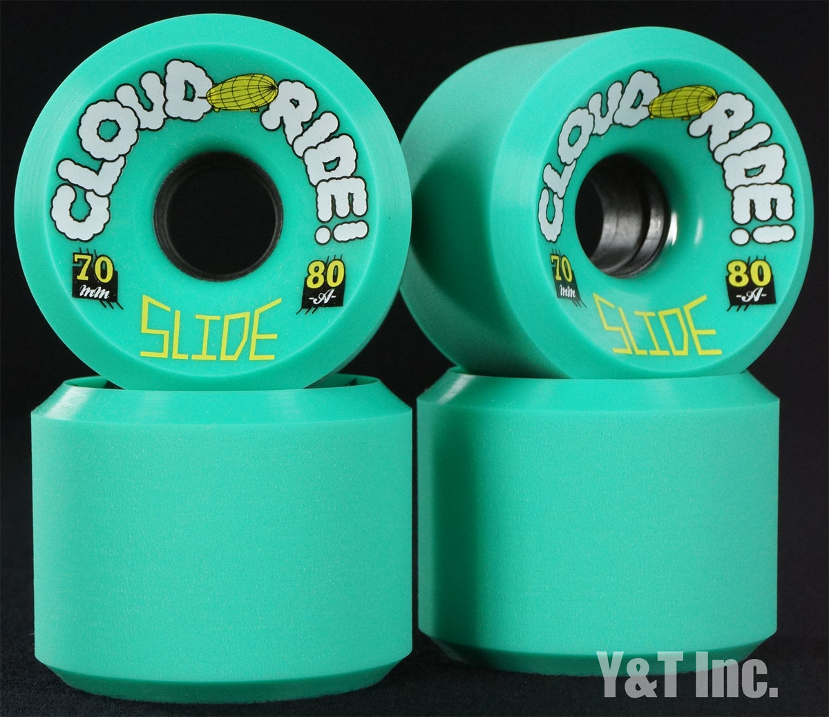 CLOUD RIDE SLIDE 70mm 80a 1